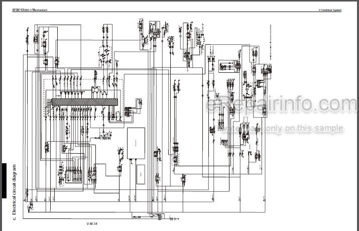 [QMVU_8575]  Kubota KX080-3 Workshop Manual Excavator – eRepairInfo.com | Kubota Excavator Wiring Diagrams |  | eRepairInfo.com