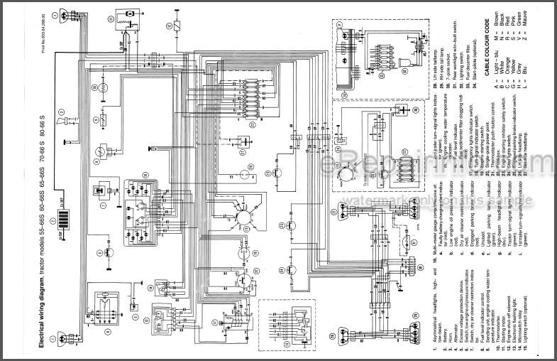 Fiat 55-66S 66-66S 65-66S 70-66S 80-66S and DTS Operators