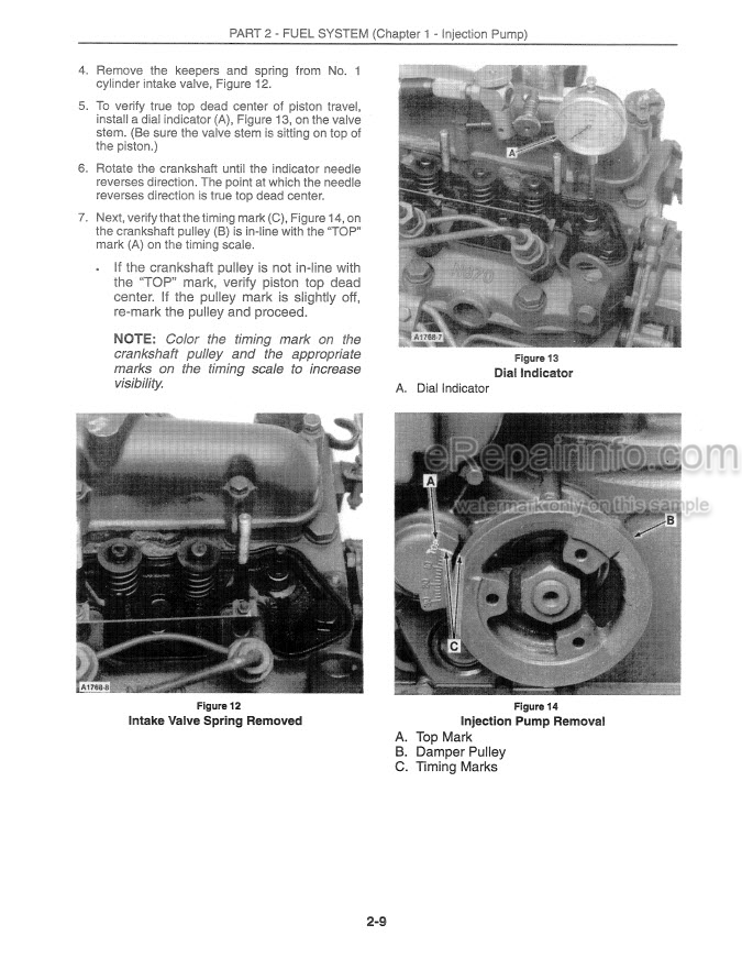 Ford New Holland 1215 Service Manual Tractor 40121510
