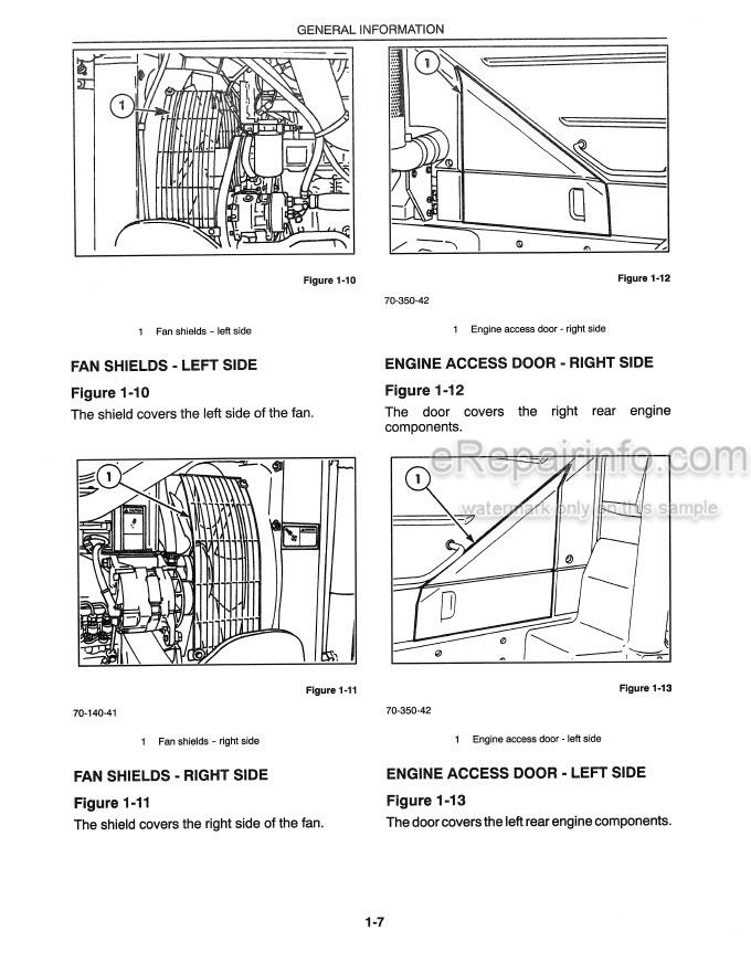 New Holland 8670 8770 8870 8970 Operators Manual Tractor