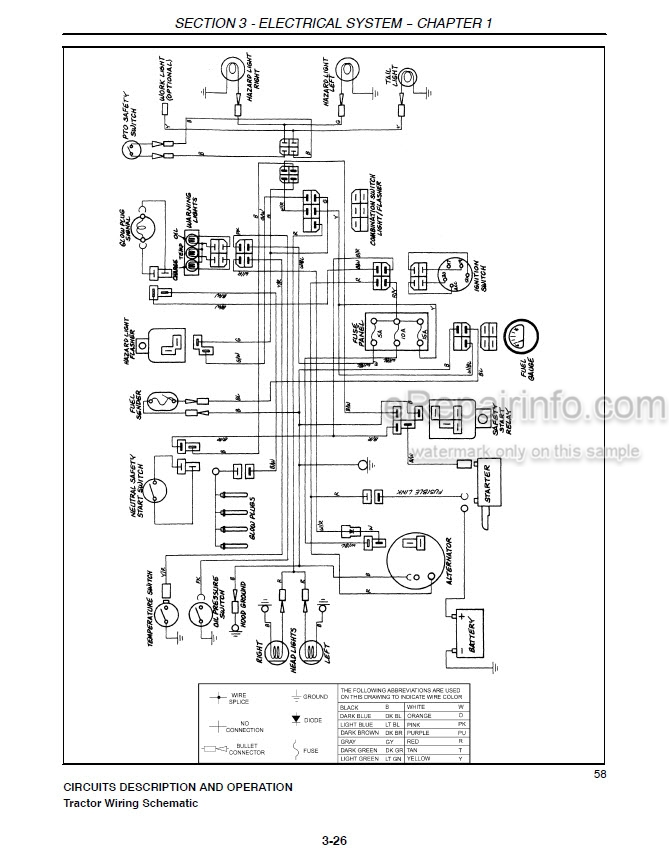 New Holland 3415 Repair Manual Tractor 87028646
