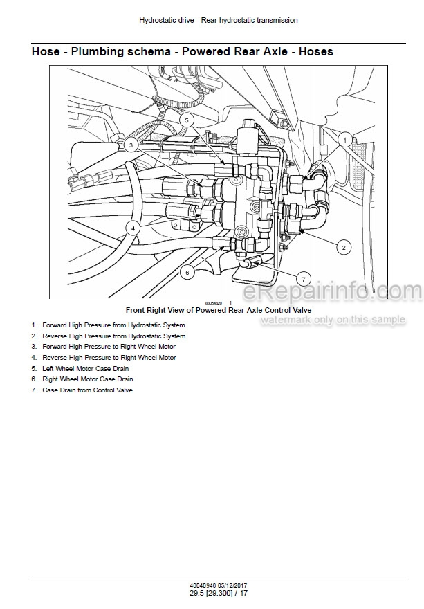 New Holland CR7.90 CR8.90 Service Manual Rotary Combine