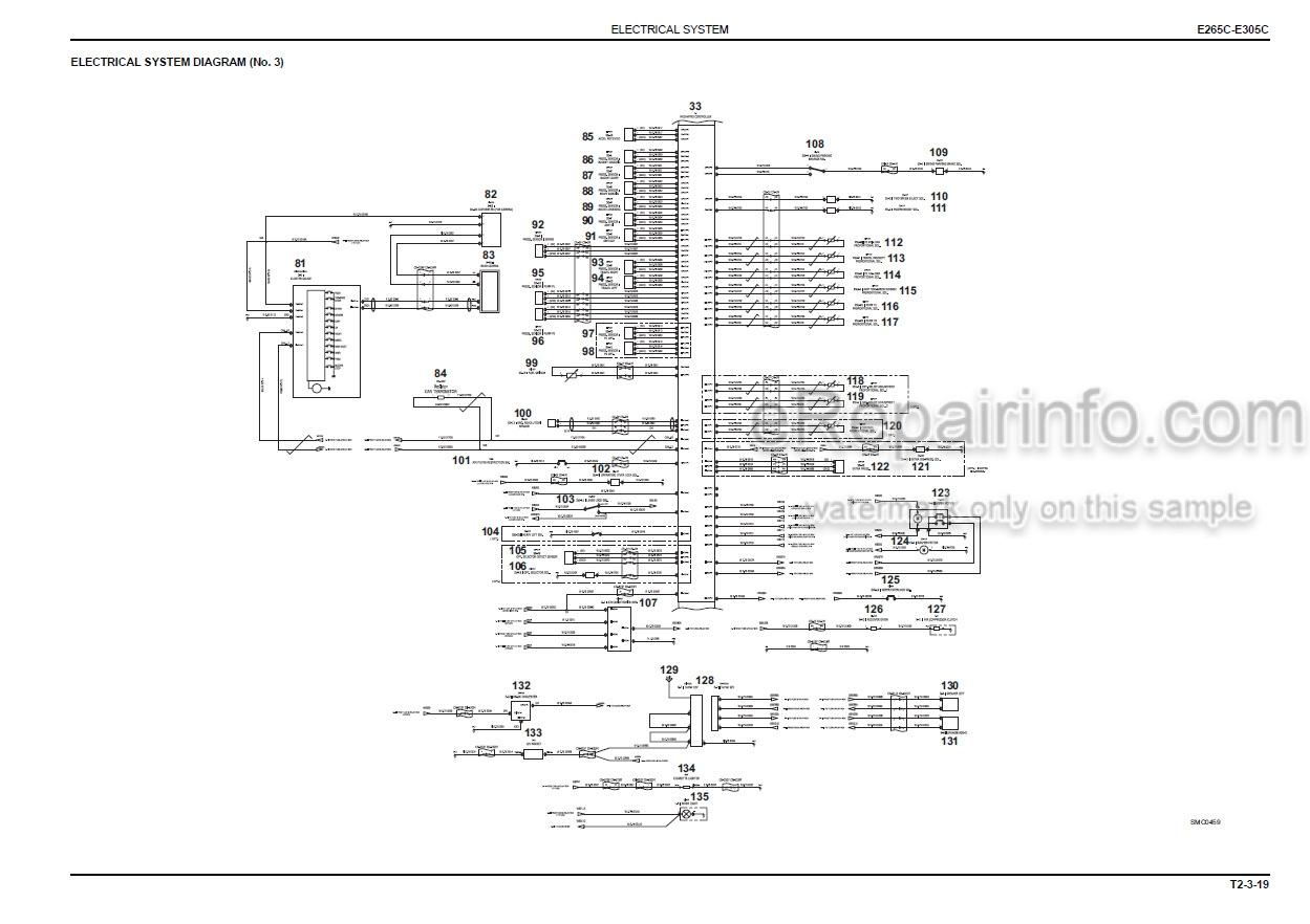 New Holland E265C E305C Tier IV Service Manual Crawler
