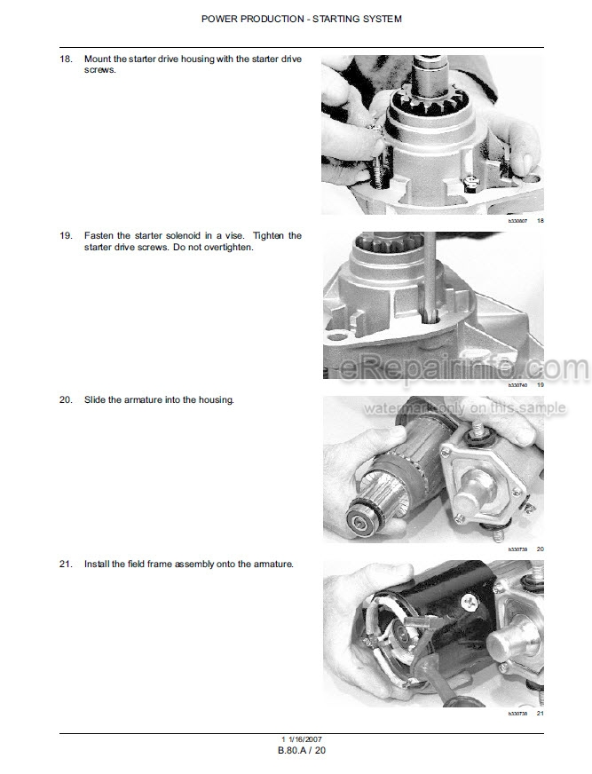 Case 450 465 450CT Repair Manual Skid Steer Compact Track