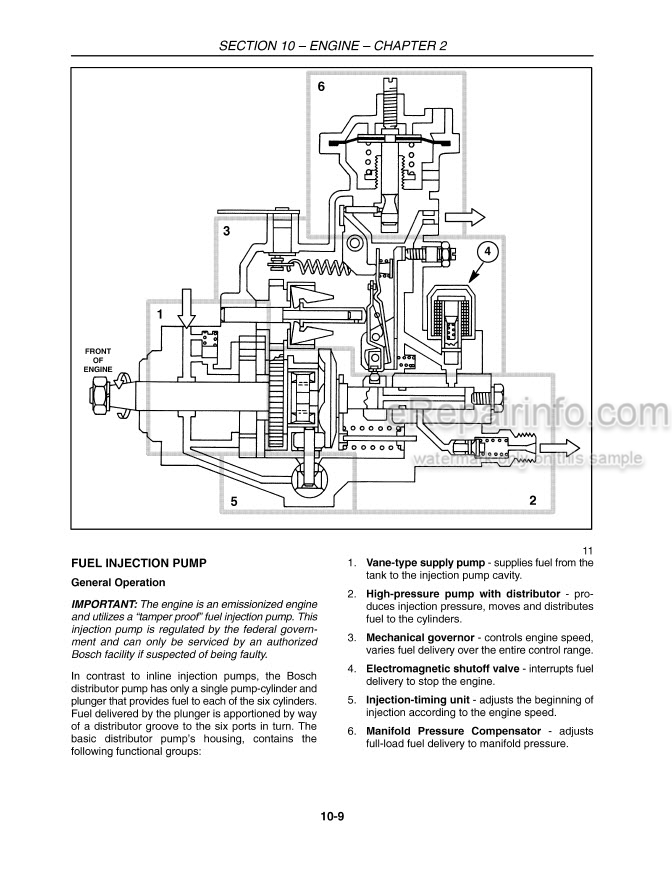 New Holland TV6070 Master Service Manual Tractor 84127307