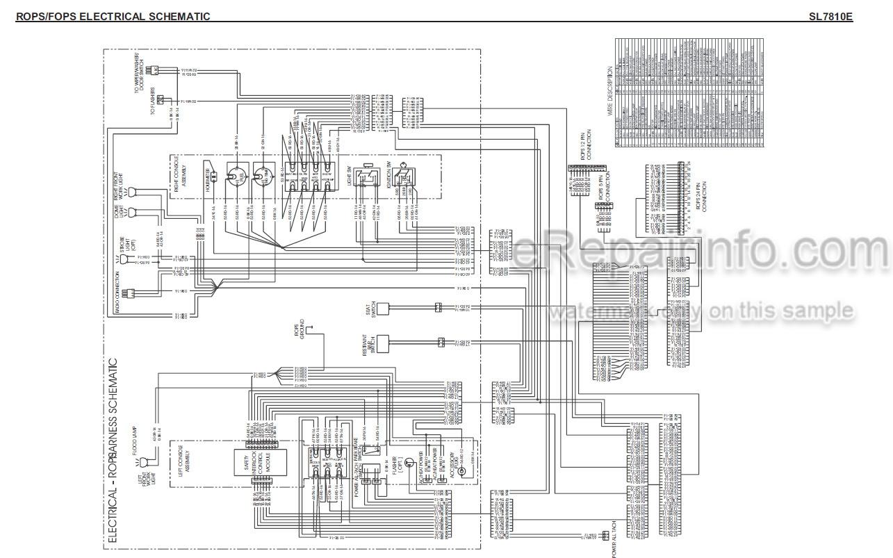 Gehl SL7810E Service Manual Skid Steer Loader 917228 – eRepairInfo.com | Gehl Skid Steer Wiring Diagram |  | eRepairInfo.com
