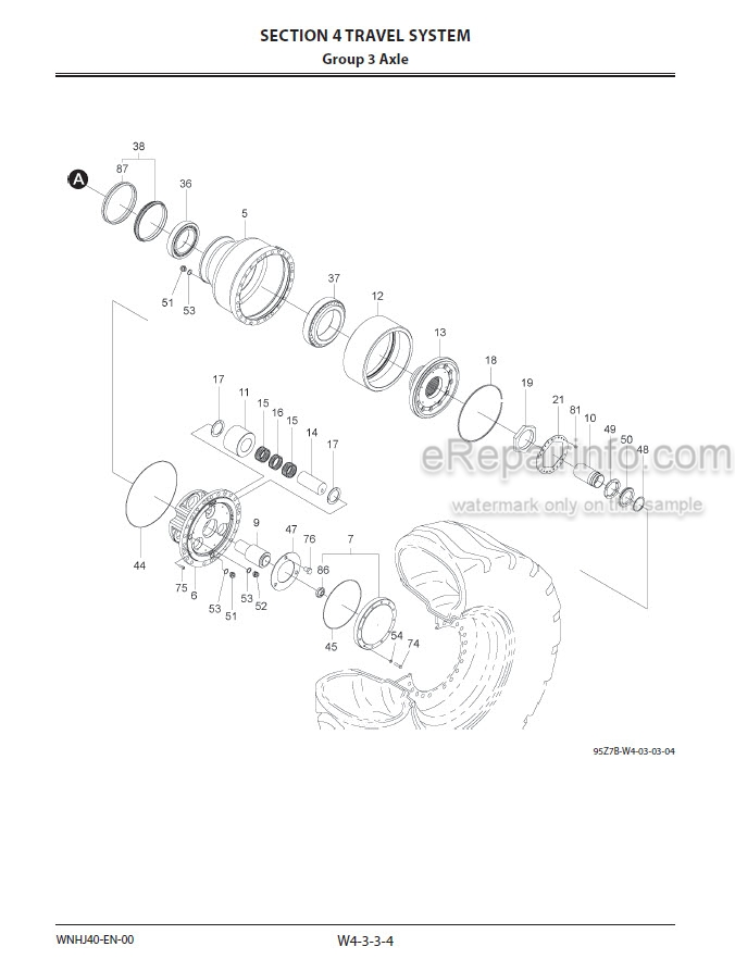 Kawasaki 95Z7B Shop Manual Wheel Loader