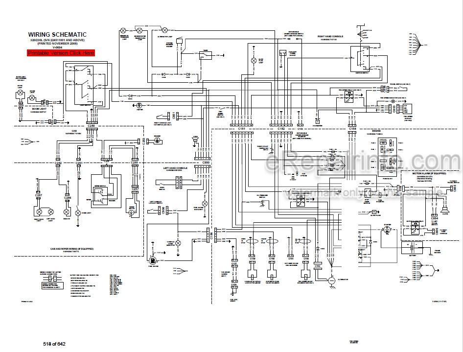 Bobcat 320 320L Service Manual Compact Excavator 6903818