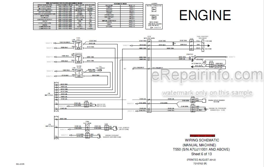 Bobcat T550 Service Manual Compact Track Loader