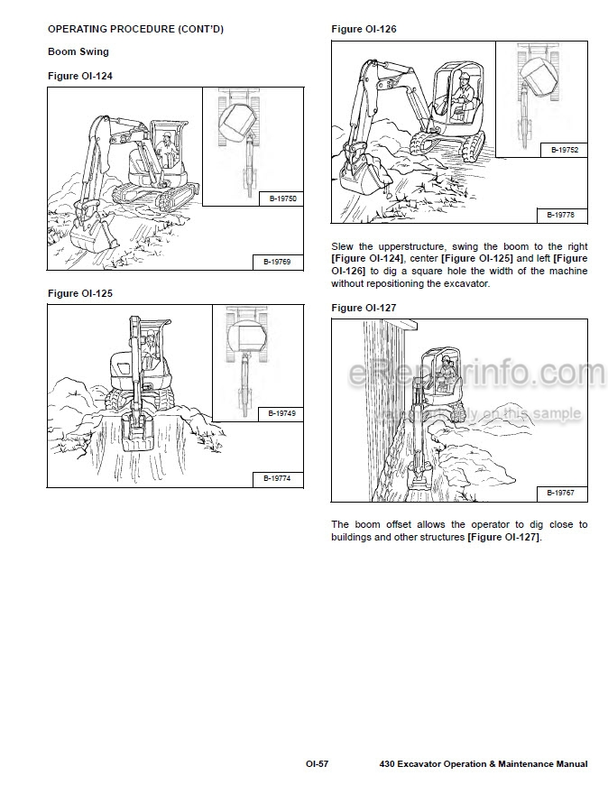 Bobcat 430 Operation & Maintenance Manual Compact