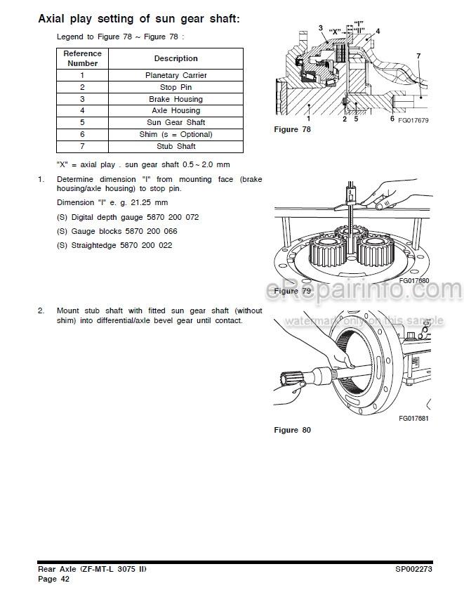 Doosan DL250 DL250TC Shop Manual Wheel Loader K1023773CE