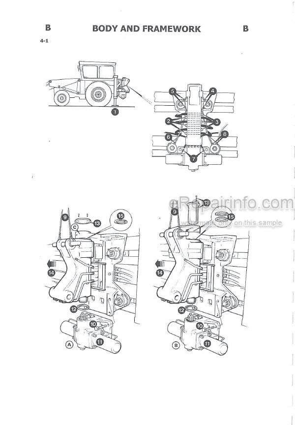 JCB 2D 2DS 3 3C 3CS 3D 700 Service Manual Excavator Loader