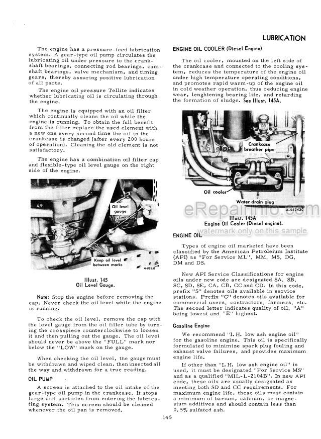 Case IH 656 Operators Manual Tractor