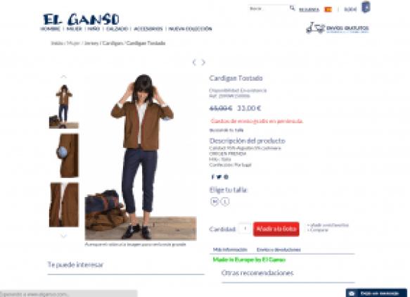 Producto - El Ganso