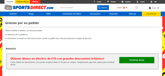 Gracias - Sports Direct