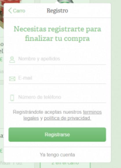 Registro - Comprea