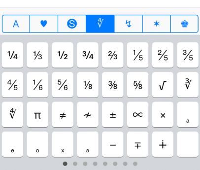 Characters and Symbols LITE 3