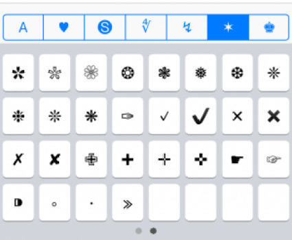 Characters and Symbols LITE 5