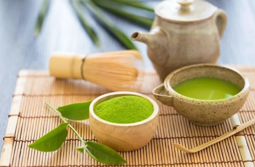 Beneficios del té matcha.