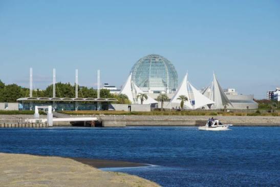 En el Parque Kasai Rinkai se realizarán las competencias acuáticas.