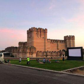 Cine de Verano Pantalla Castillo