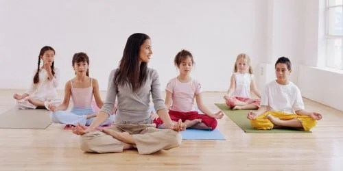 Yoga for children is an excellent option for extracurricular classes