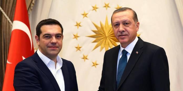 Alexis Tsipras, Recep Tayyip Erdogan