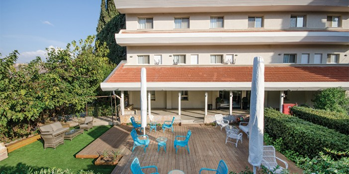 The Travel Hotel in Metulla is a building from the 1930s that has been fully refurbished.
