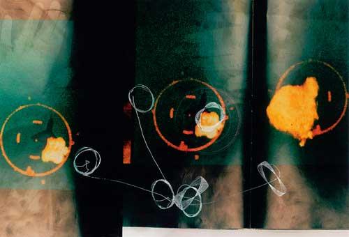 אפרת שלם - ללא כותרת. רישום צילומי, 2006-8