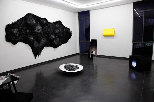 אלעד ערמון - מראה כללי של התערוכה. צילום: עודד בן חפר