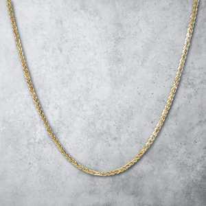 שרשרת זהב לגבר - ספיגה זהב