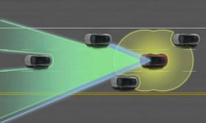 Skizze des Model S Autopilot (Quelle: inside EV / Tesla Motors)