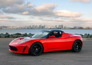 Bild eines Tesla Roadster in San Diego (Quelle: Tesla Motors Inc.)