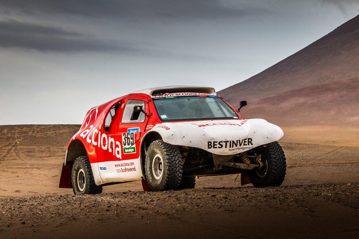 Bild von Acciona - Dakar 2015 (Quelle: Acciona)