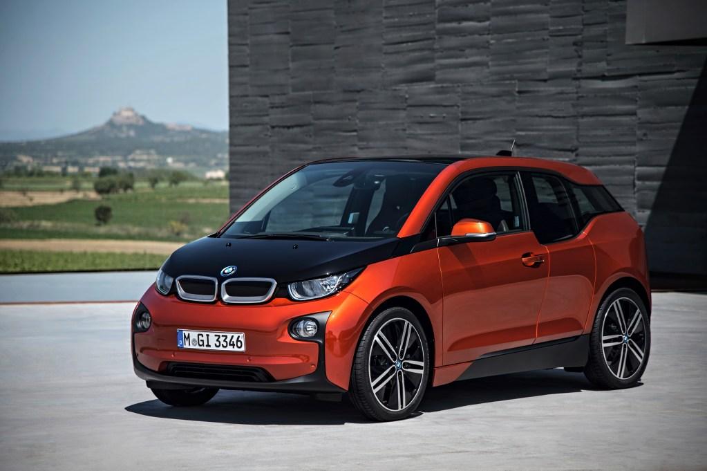 Bild des BMW i3 - Vorderansicht (Quelle: BMW)