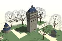 Donjon Nijmegen, Illustratie: Haskoning