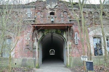 Door mij bezochte fort, fort V, Antwerpen