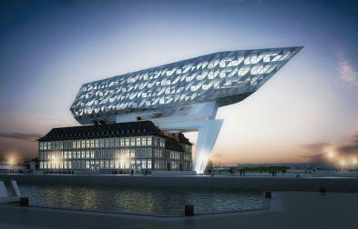 Havenhuis, Antwerpen, België © by Interbuild projectgroep (projectonwikkelaar)