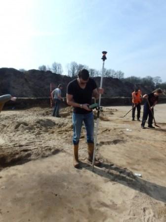 graven worden ingemeten foto: ADC