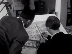 Uit de documentaire Een Nieuw Dorp op Nieuw Land van Louis van Gasteren