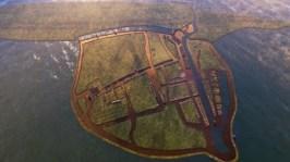 Onzichtbaar Nederland brengt in beeld hoe Reimerswaal er vroeger uit heeft gezien. Foto via: VPRO