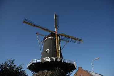 Molen De Kroon in Arnhem. Foto via: De Hollandsche Molen