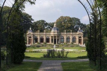 Oranjerie op het landgoed Hydepark in Doorn Foto: Frank Hanswijk