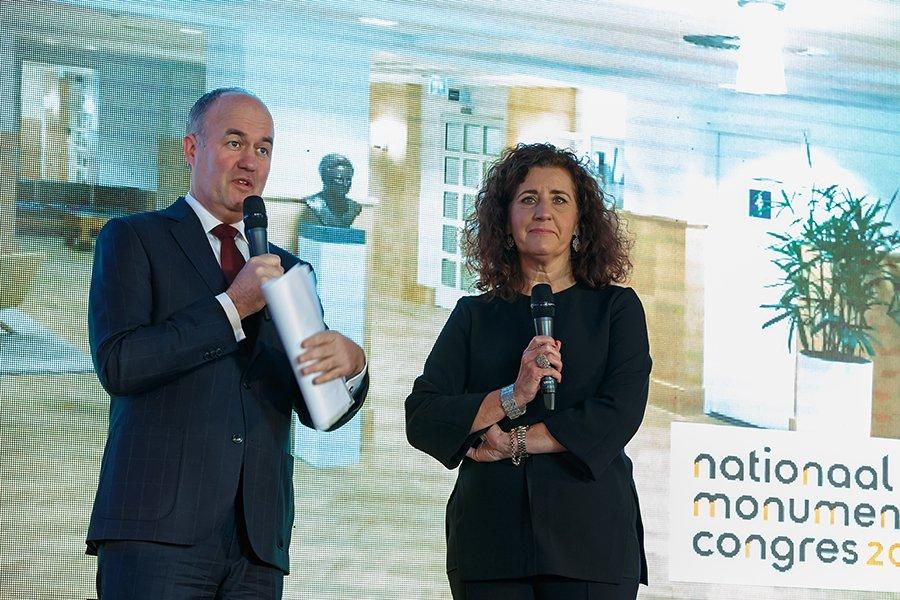 Minister Van Engelshoven sprak op het Nationaal Monumentencongres