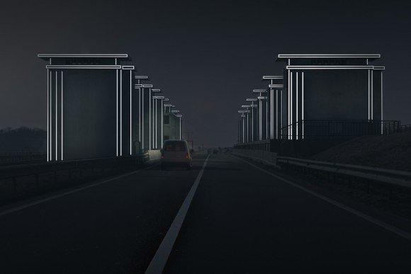 Afsluitdijk 85 jaar en voorzien van lichtkunstwerken