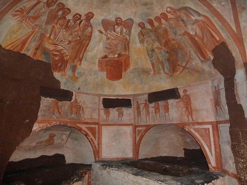 Romeinse Katakomben in Valkenburg worden gerestaureerd
