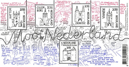 Postzegels Mooi Nederland 2018