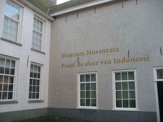 Het vijf jaar geleden gesloten Museum Nusantara in Delft