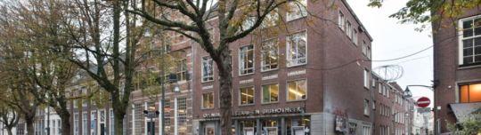 De oude bibliotheek aan de Brink in Deventer