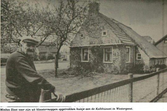 Het Toerhûske in Westergeest in 1984